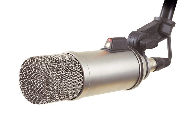 RODE Broadcaster an Klemme
