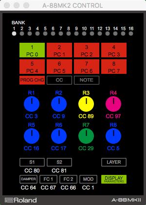 roland a-88 mk2 software editor test