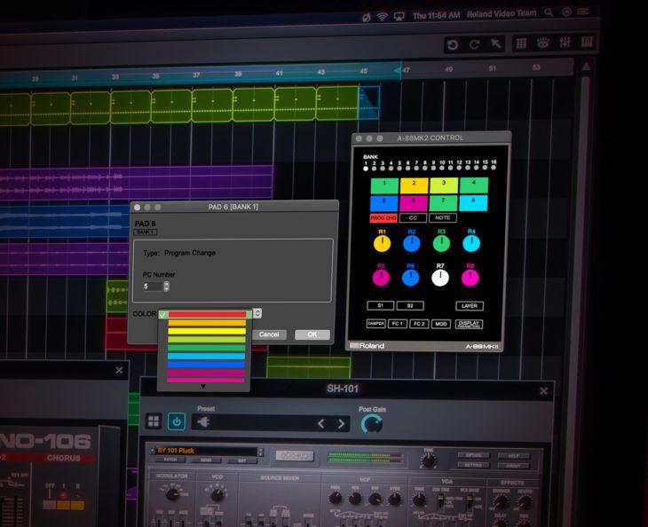 Roland A-88MKII MIDI-Controller 3