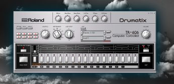 Test: Roland Cloud TR-606 Software Plugin, Drumcomputer