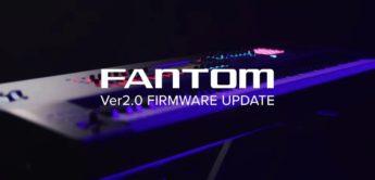 Major-Update 2.0 für die Roland Fantom Workstation