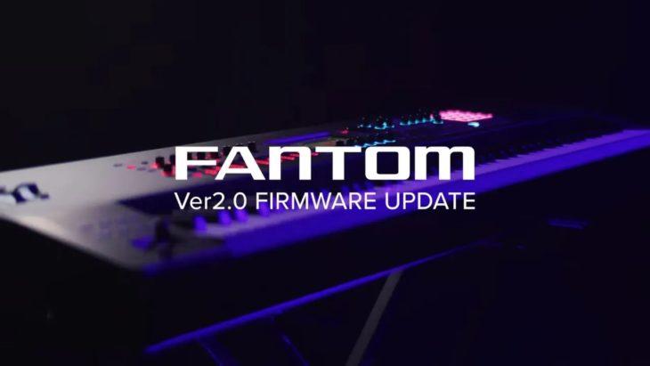 roland fantom workstation update 2.0