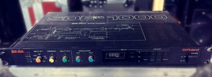 Hier das Roland SDE-1000