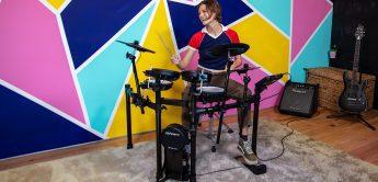 Neues E-Drumset Roland TD-07 KV für fortgeschrittene Schlagzeuger
