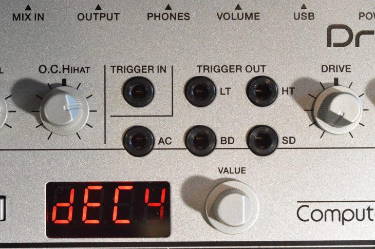 Roland TR-06 Boutique - Trigger Anschlüsse