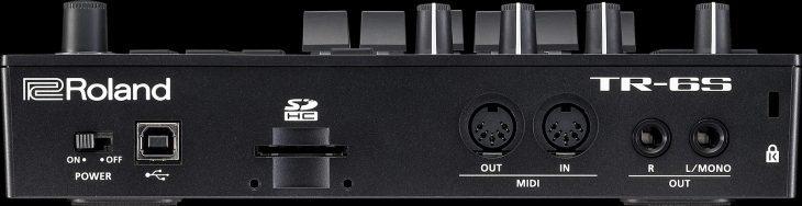 roland tr 6s test drumcomputer