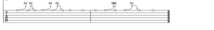 Gitarrensolo Rosanna Tab 2