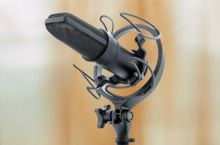 sanken cu 44 II mk mikrofon test
