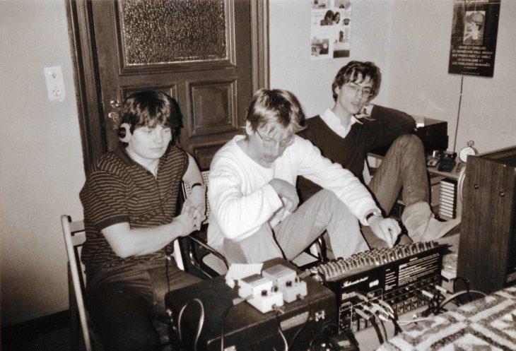 Roland Space Echo - Mixsession um 1980