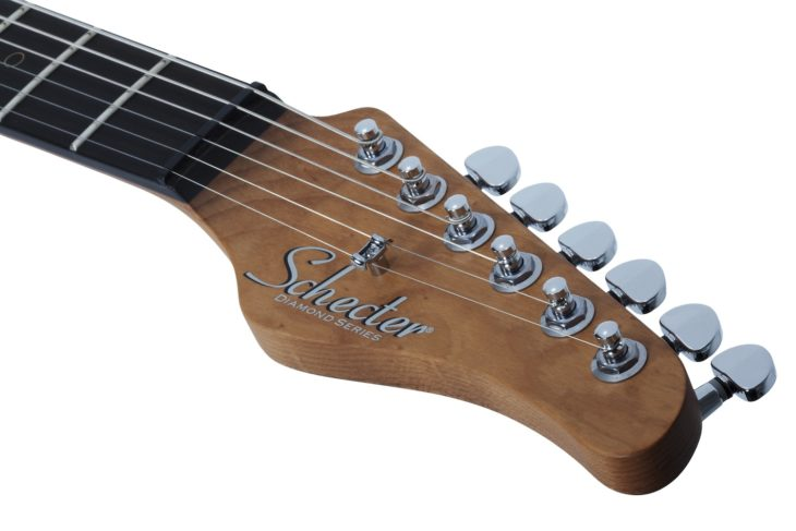 Schecter Nick Johnston Traditional E-Gitarre Headstock