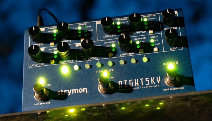 Test: Strymon NightSky, Hall-Pedal