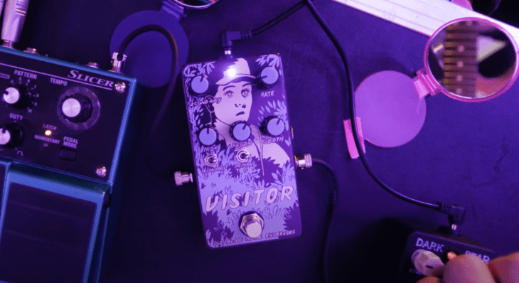 Test: Old Blood Noise Endeavors Visitor, Modulations-Pedal