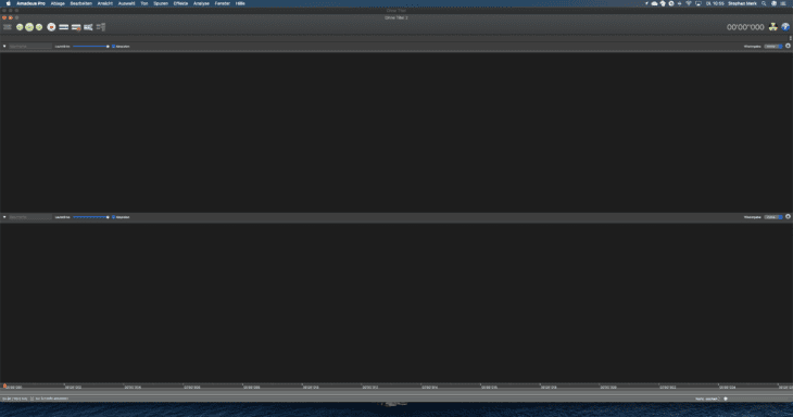 Screenshot Amadeus Pro for Mac