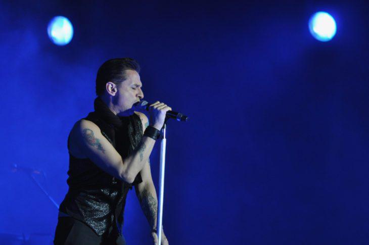 Dave Gahan bei einem Depeche Mode-Konzert in Israel