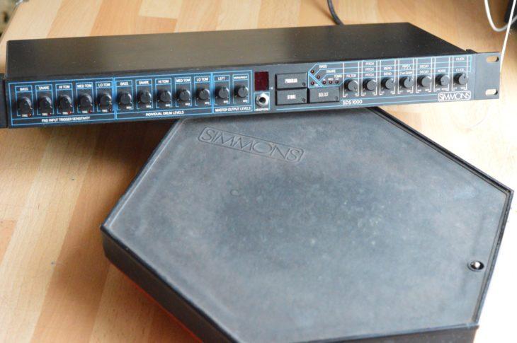 Simmons SDS-1000 - Brain und Pad