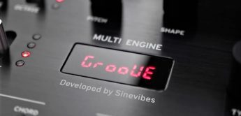 Sinevibes Groove macht Korg Prologue, Minilogue XD und NTS-1 zu Drummaschinen