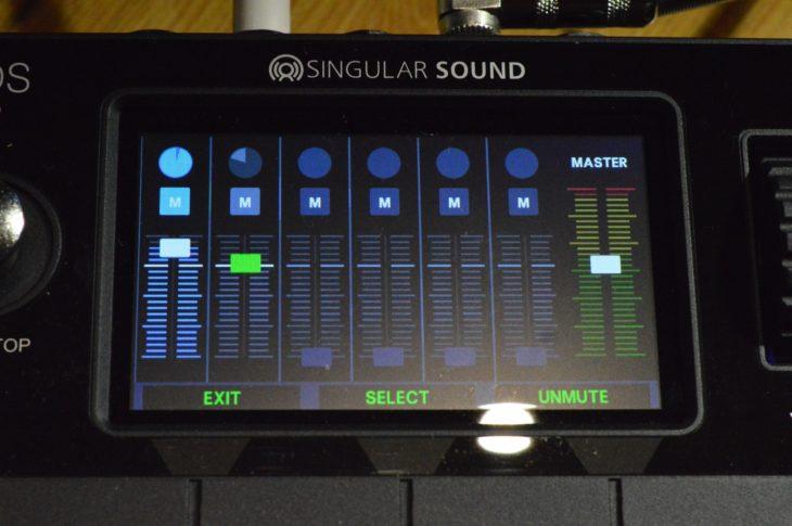 Im Mixer kann jede Spur eine eigene Lautstärke bekommen - und das für jeden Part unabhängig