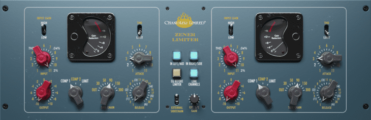 Softube Chandler Limited Zener-Bender - Hardware VS Software - BSP4