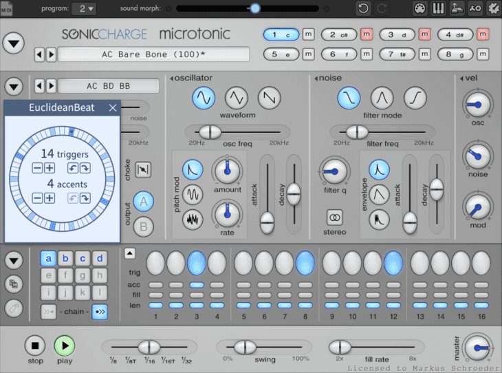 test Sonic Charge Microtonic V3.3