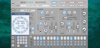 Test: Sonic Charge Microtonic V3.3, Drum-Synthesizer Plugin
