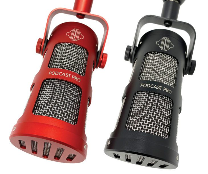 Sontronics Podcast Pro Red and Black