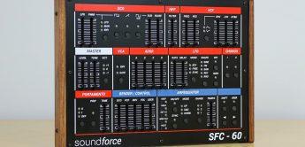 Soundforce SFC-60 V3, Controller für TAL-U-NO-LX