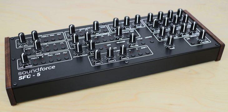 Soundforce SFC-5 V2 MIDI-Controller 2
