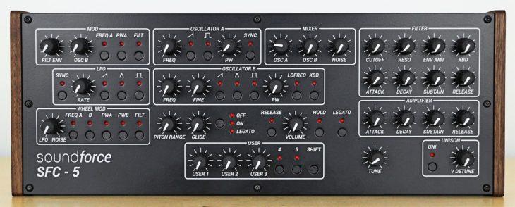 Soundforce SFC-5 V2 MIDI-Controller