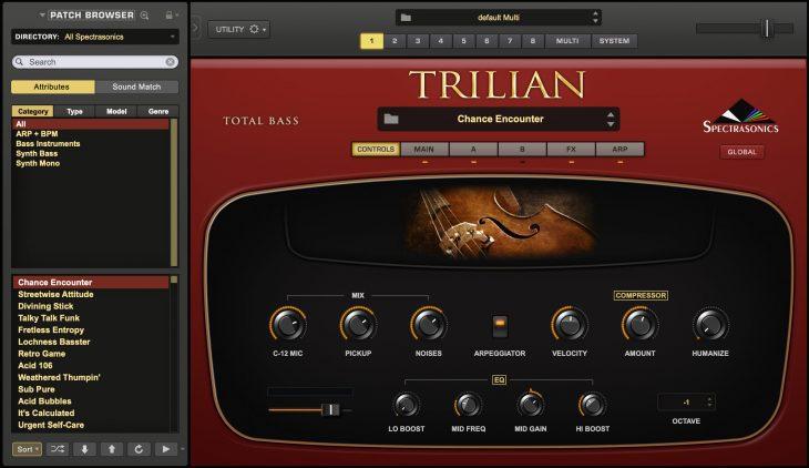 spectrasonics trilian 1.5 update