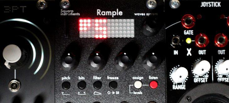 Squarp Instruments Rample Userbild Anzeige MultiSamples