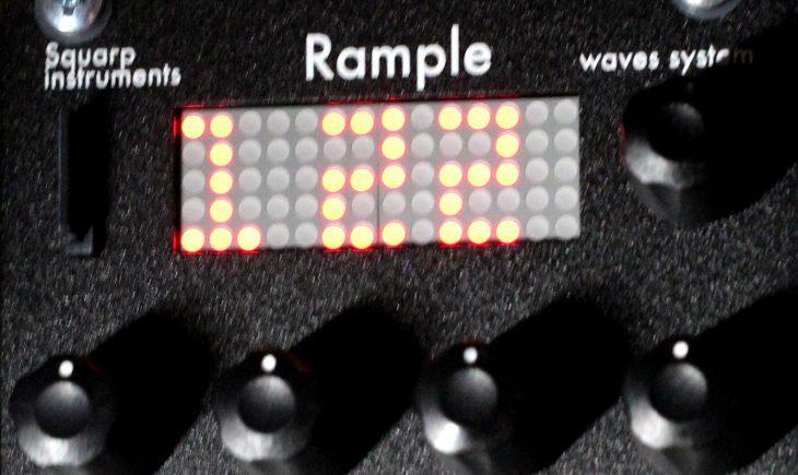 Squarp Instruments Rample Userbild Anzeige neue Firmware