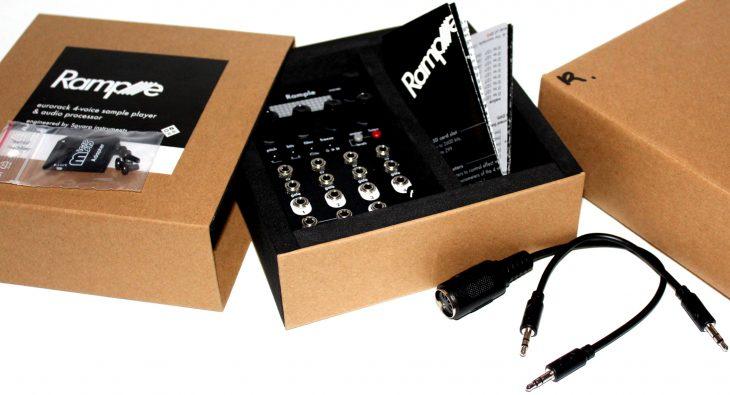 Squarp Instruments Rample Userbild Ausgepackt
