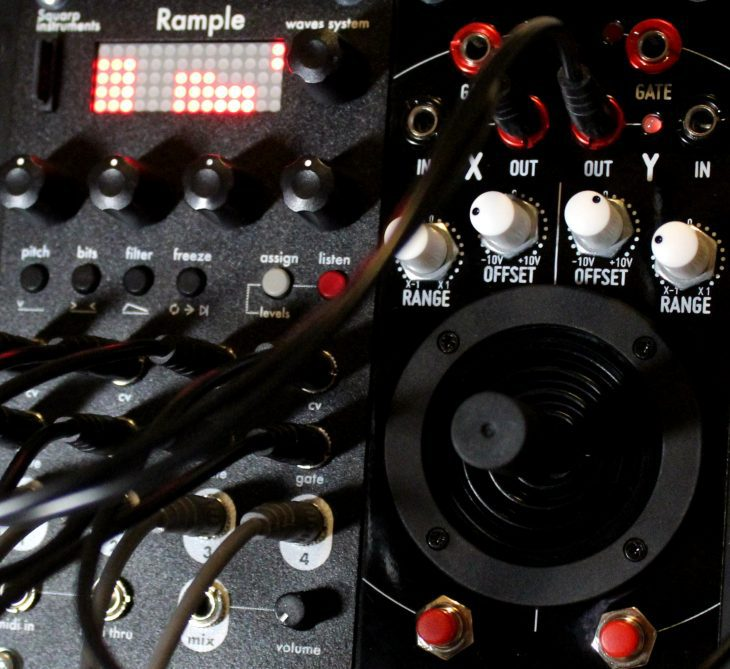 Squarp Instruments Rample Userbild Detailbild Modulation