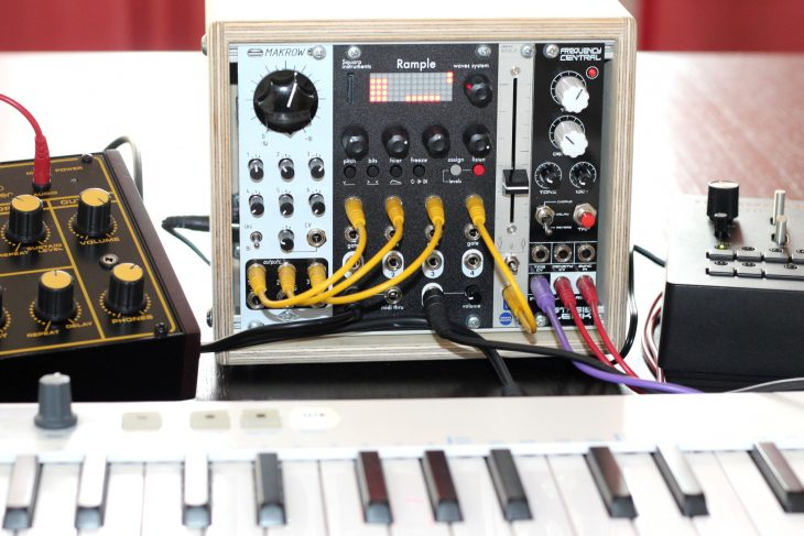 Squarp Instruments Rample Userbild Kleines Setup