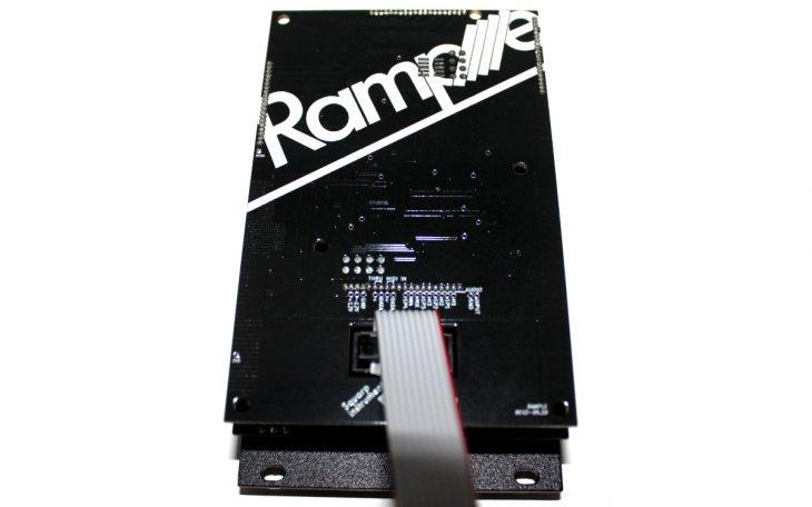 Squarp Instruments Rample Userbild Modul Rückseite Logo