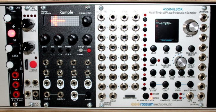 Squarp Instruments Rample Userbild SampleModule