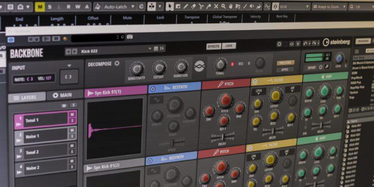 Backbone steinberg re-synthesizer