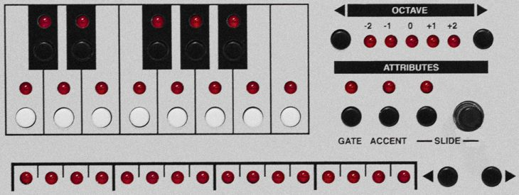 Stepper Acid Transistor Sounds Labs Herstllerbild 303 Patterneditierung