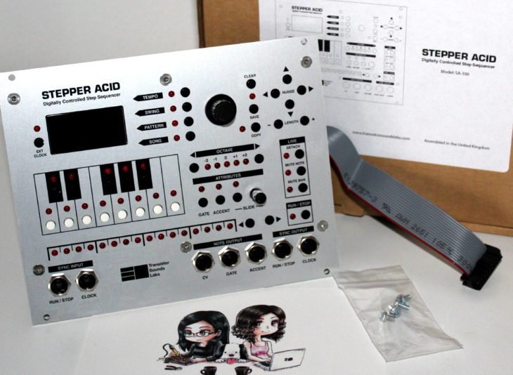 Stepper Acid Transistor Sounds Labs Userbild Ausgepackt Verpackungsinhalt
