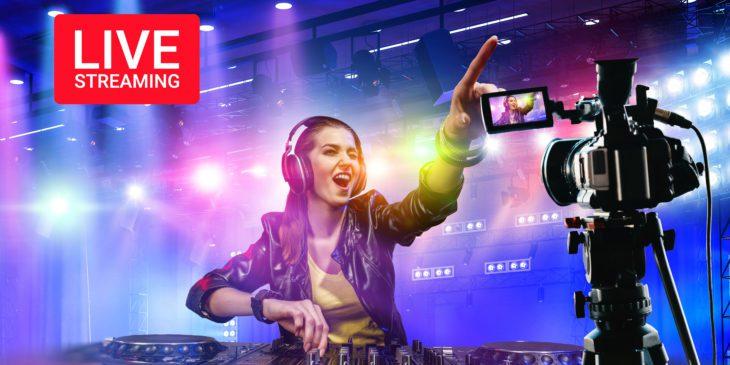 Streaming von DJ-Sets