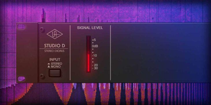 Das Plug In von UAD Audio.
