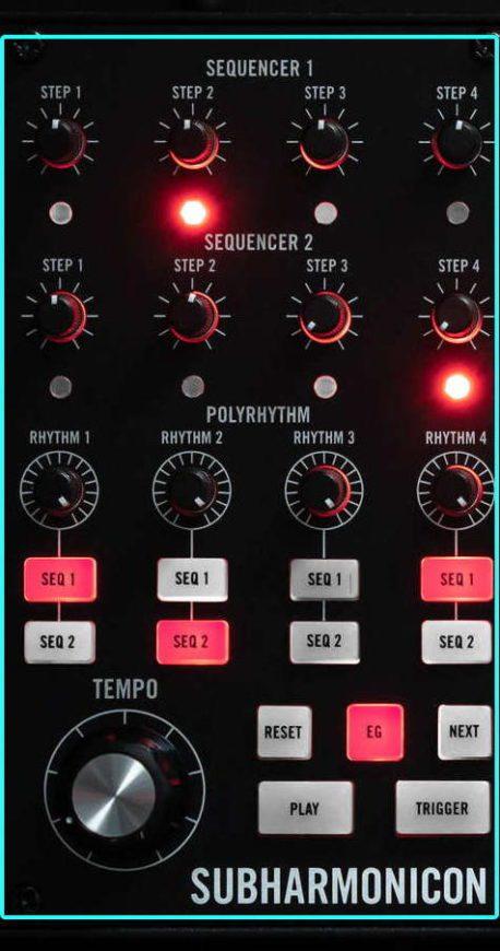 Moog Subharmonicon - Sequenzer
