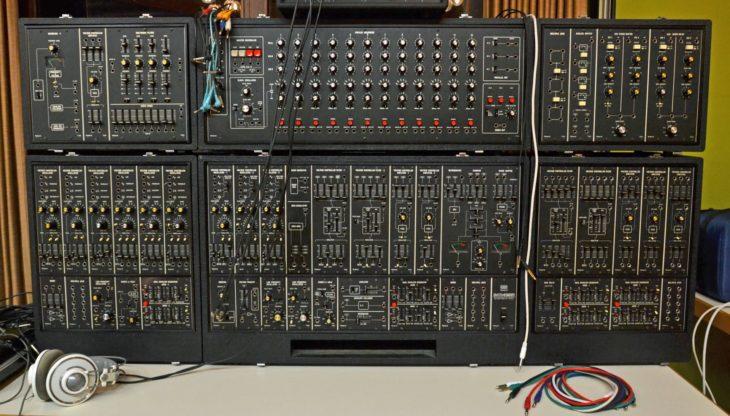 Ein großes Modularsystem von Roland - Das System 700.