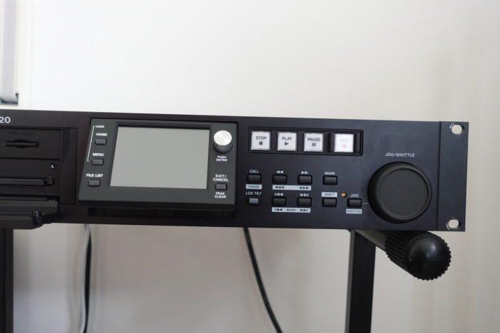 Tascam HS-20 Display schräg