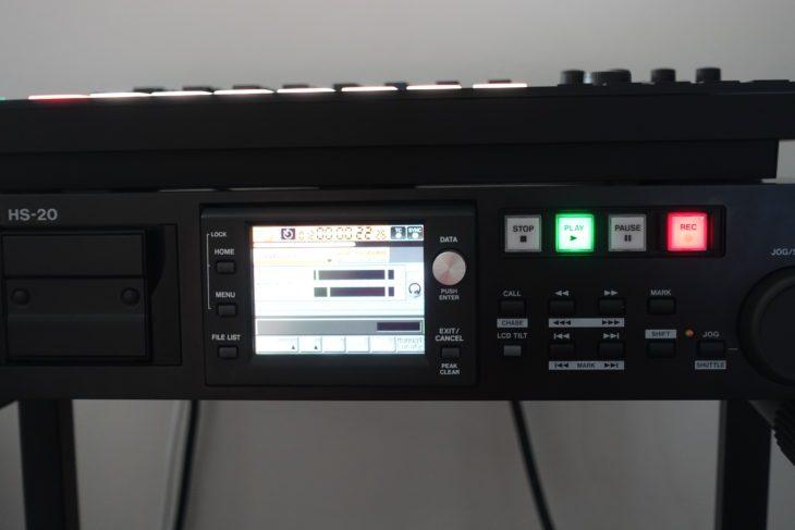 Tascam HS-20 Recording