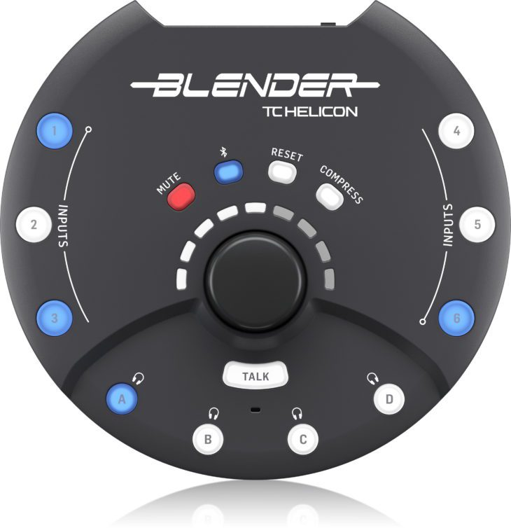 TC Helicon BLENDER Oberseite