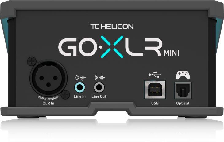 TC Helicon GO XLR MINI Rückseite