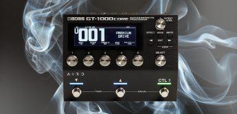 Test: Boss GT-1000 Core, Multieffektgerät