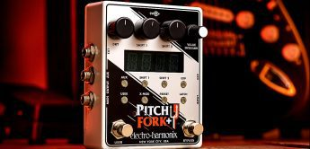 Test: Electro Harmonix Pitchfork Plus, Synthesizer-Pedal