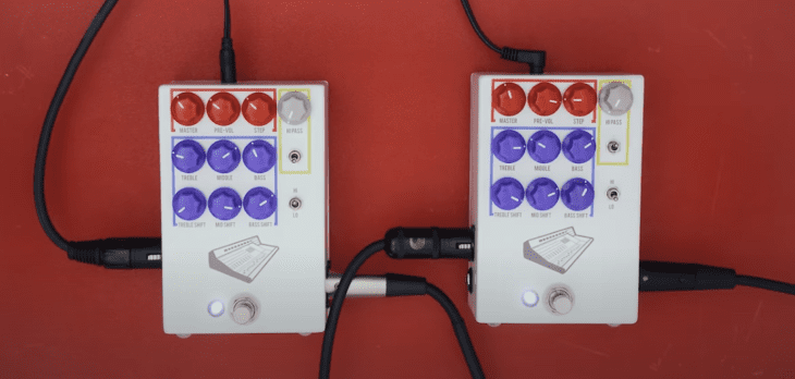 Test: JHS Pedals Colour Box V2 EQ DI-Box